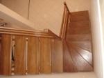 escada com madeira nacional