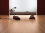 Piso laminado cor Nogueira piso laminado para ambientes confortados