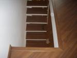 Piso Laminado Factor piso laminado ospefloor colocado também na escada