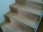escada revestida com Piso laminado laminado imperial ospefloo